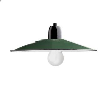 Suspension atelier vert emaillee o28cm h10cm zangra e310c091 b44d 429e 9580 2dd6b83649e9 normal