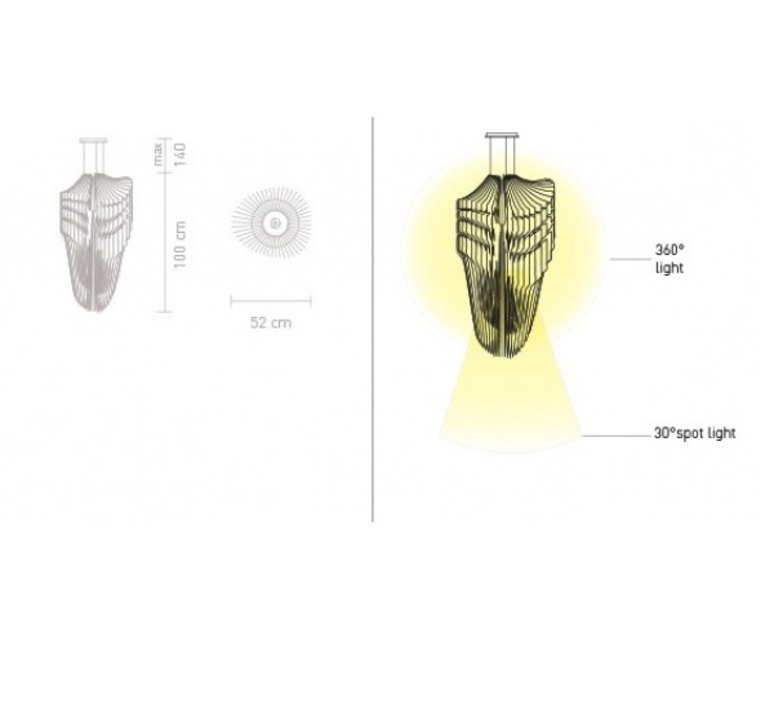 Avia zaha hadid slamp avi84sos0002w 000 luminaire lighting design signed 17363 product
