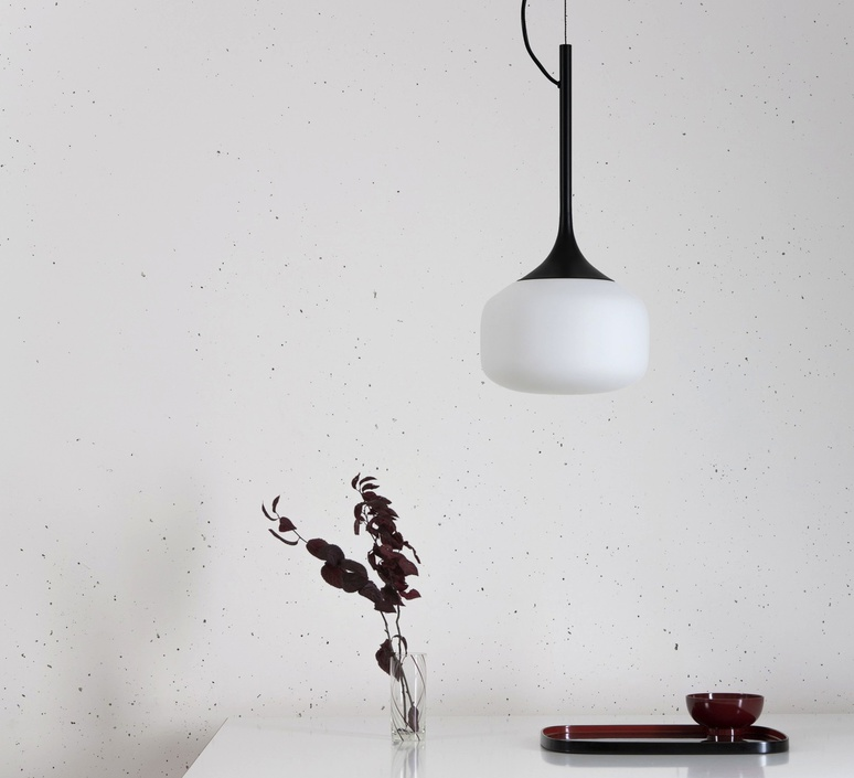 Awa lena billmeier et david baur suspension pendant light  teo t0015s bk006  design signed 33234 product