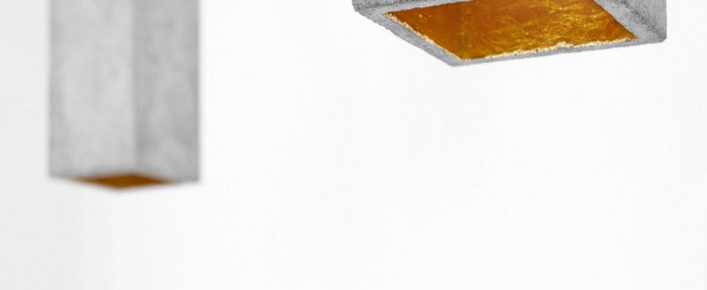 Suspension b2 beton gris clair l10cm h23cm gantlights normal