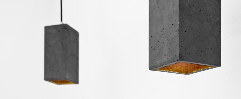 Suspension b2 gris fonce laiton l10cm h23cm gantlights normal