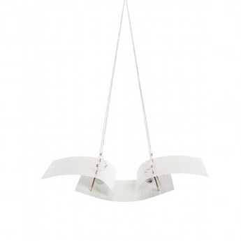 Suspension b212 blanc h50cm lignes de demarcation normal