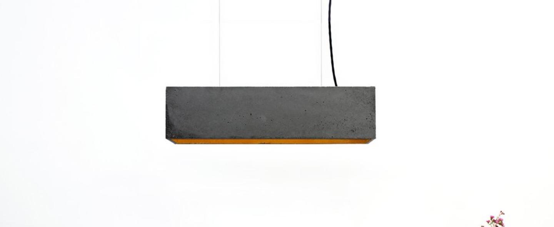 Suspension b4 dark gris argent l56cm h14cm gantlights normal
