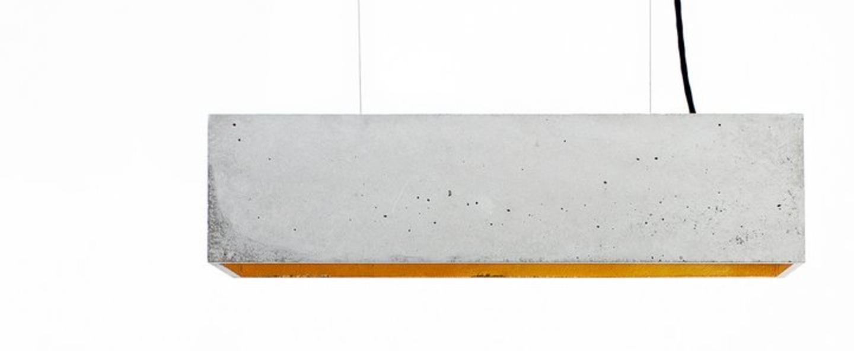 Suspension b4 gris cuivre l56cm h14cm gantlights normal