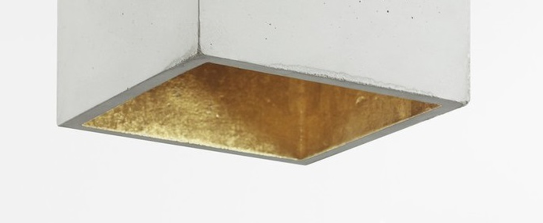 Suspension b5 gris clair laiton l18cm h18cm gantlights normal