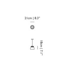 Baby valentine  suspension pendant light  moooi molvab ca  design signed 57294 thumb