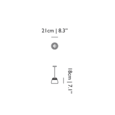 Baby valentine  suspension pendant light  moooi molvab xa  design signed 57302 thumb