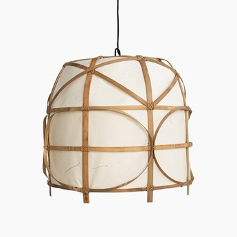 Suspension bagobo r l naturel o59cm h53cm ay illuminate normal