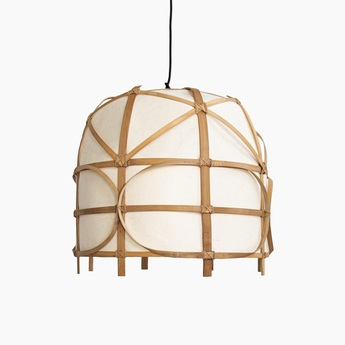Suspension bagobo r m naturel o50cm h44cm ay illuminate normal