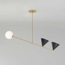 Balancing gwendolyn et guillane kerschbaumer suspension pendant light  atelier areti 368ol p02 br01   design signed nedgis 73090 thumb