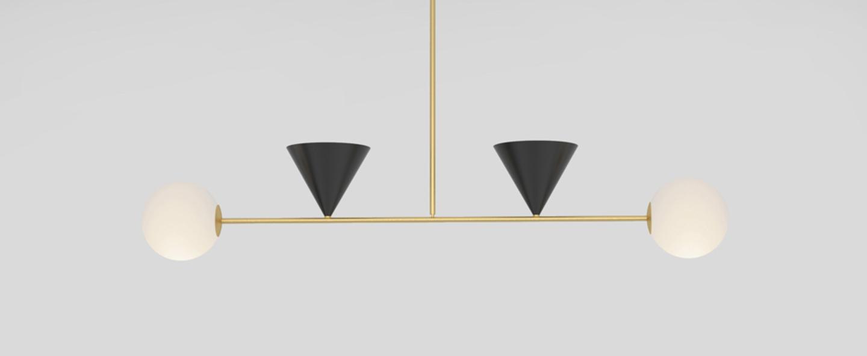 Suspension balancing variations noir l110cm h69cm atelier areti normal