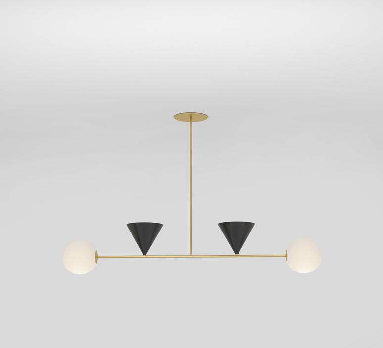 Balancing variations gwendolyn et guillane kerschbaumer suspension pendant light  atelier areti 368ol p04 br01   design signed nedgis 73367 product