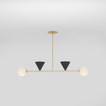 Suspension balancing variations noir l110cm h69cm atelier areti normal
