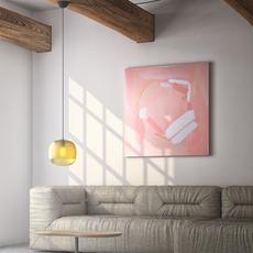 Bale enrico zanolla suspension pendant light  zanolla ltbas25a  design signed 54951 thumb