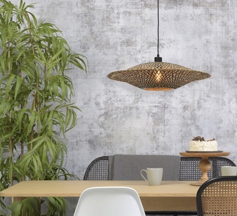 Bali m good mojo studio suspension pendant light  it s about romi bali h 6015 bn  design signed nedgis 112965 product