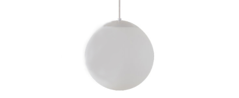 Suspension ball blanc o30cm hcm zangra normal