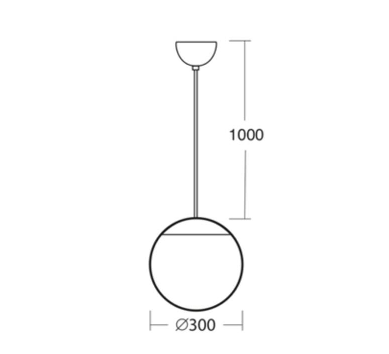 Ball studio zangra suspension pendant light  zangra light o 098 w 001  design signed nedgis 68079 product