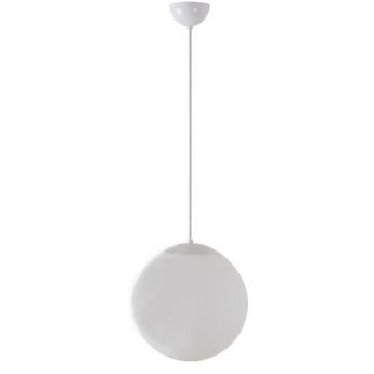 Suspension ball blanc o30cm hcm zangra normal