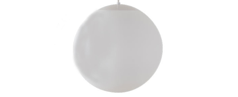 Suspension ball blanc o40cm hcm zangra normal