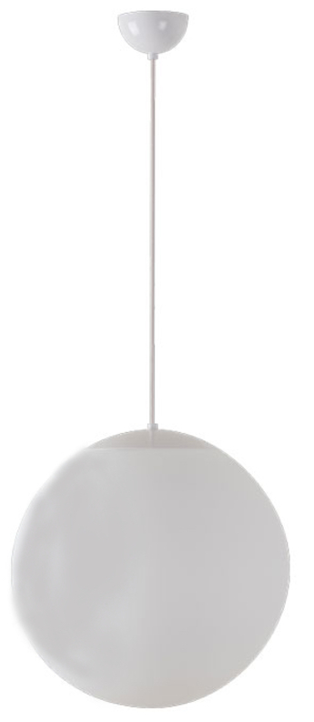 Suspension ball blanc o40cm hcm zangra normal