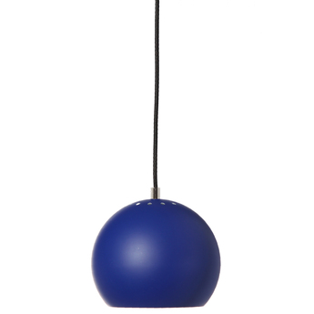 Suspension ball bleu cobalt mat o18cm h16cm frandsen normal