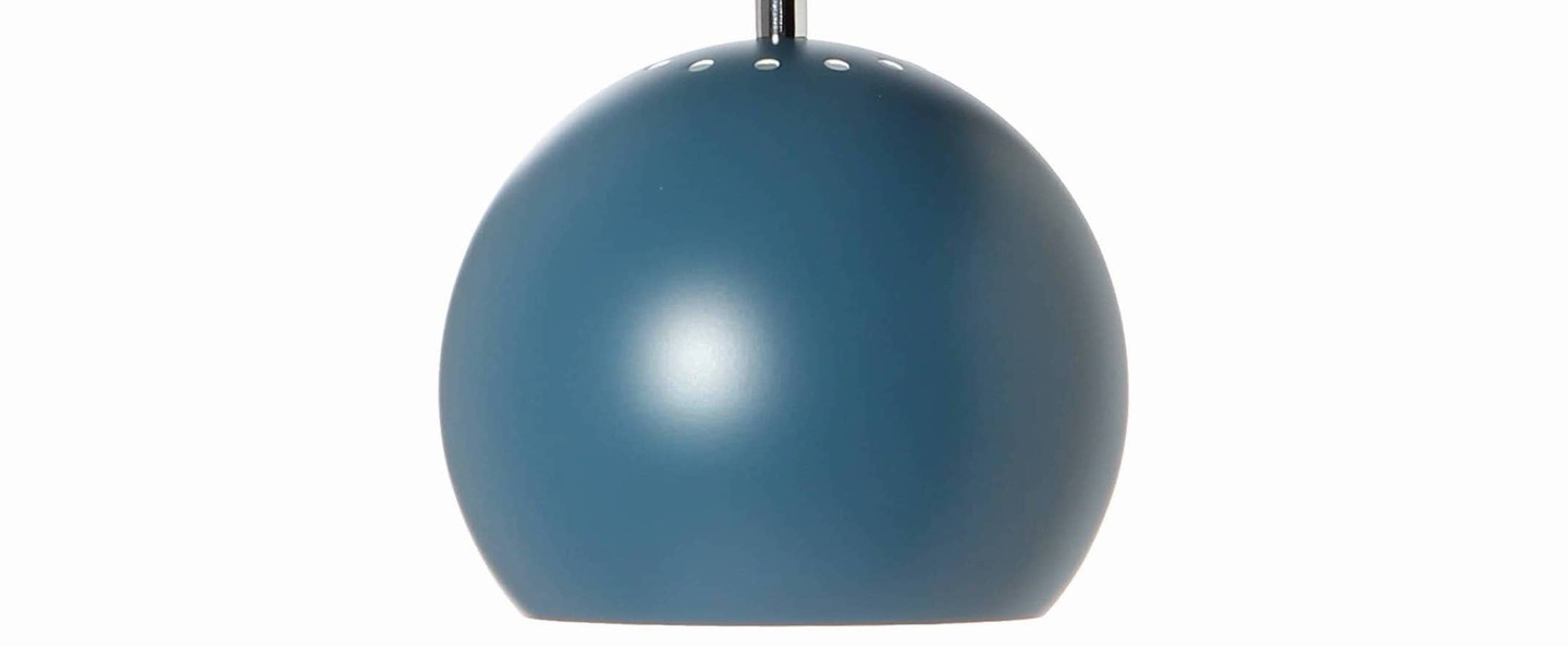 Suspension ball bleu petrole mat o18cm h16cm frandsen normal