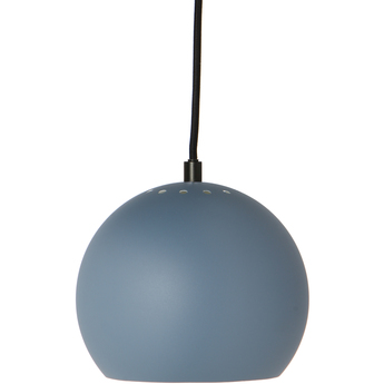 Suspension ball bleu poudre mat o18cm h16cm frandsen normal