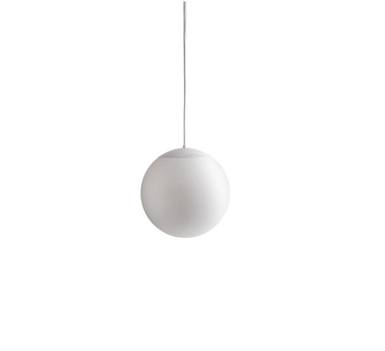 Suspension, Ball, IP40, blanc, Ø20cm, Hcm Zangra