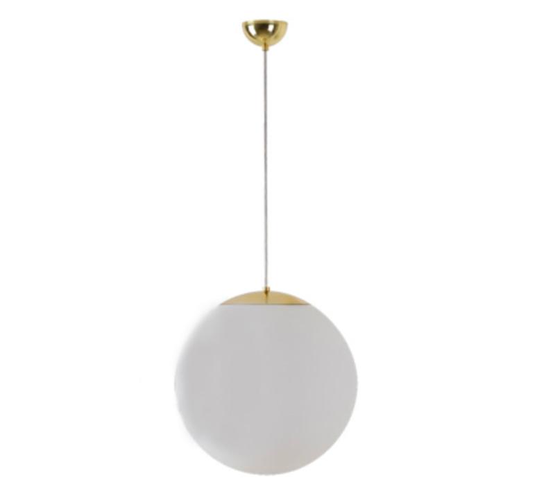 Suspension, Ball, IP40, laiton, Ø40cm Zangra