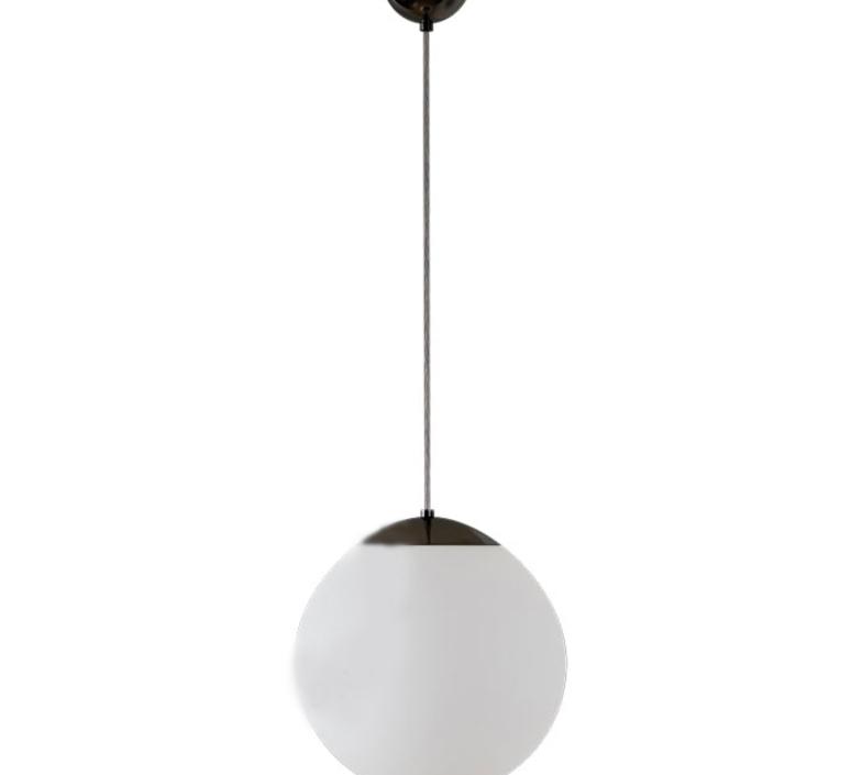 Suspension, Ball, IP40, noir, Ø30cm, Hcm Zangra