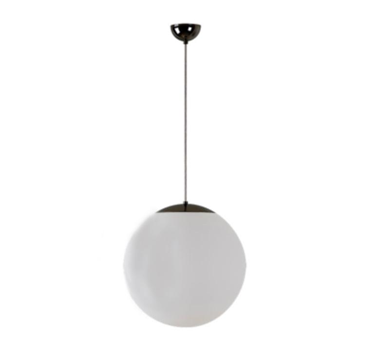Suspension, Ball, IP40, noir, Ø40cm Zangra