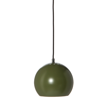 Suspension ball vert fonce mat o18cm h16cm frandsen normal