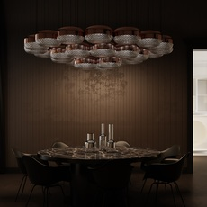 Balloton 7211 1 disk matteo zorzenoni suspension pendant light  mm lampadari v2806 172110103  design signed nedgis 92840 thumb