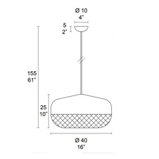 Balloton 7211 1 disk matteo zorzenoni suspension pendant light  mm lampadari v0199 172110104  design signed nedgis 92839 thumb
