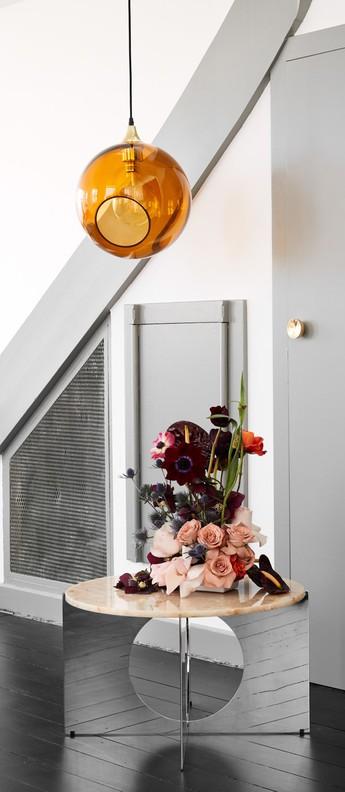 Suspension ballroom orange o20cm hcm design by us normal