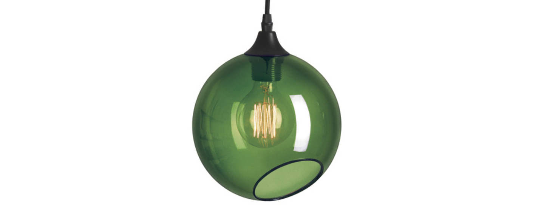 Suspension ballroom vert o20cm hcm design by us normal