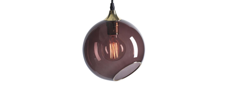 Suspension ballroom violet o20cm hcm design by us normal