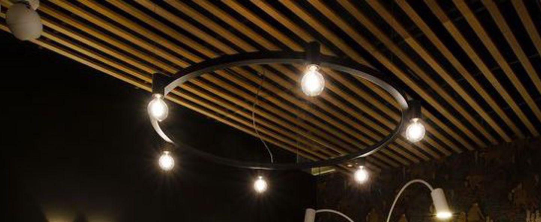 Suspension ballzzz one 1200 noir led 2700 k 600 lm o120cm hcm dark normal