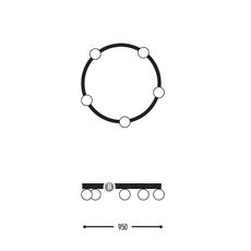 Ballzzz one 950 anthony boelaert suspension pendant light  dark 1913 02 906002 01 0  design signed nedgis 69429 thumb
