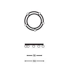 Ballzzz two 950 anthony boelaert suspension pendant light  dark 2001 02 906002 01 0  design signed nedgis 69436 thumb