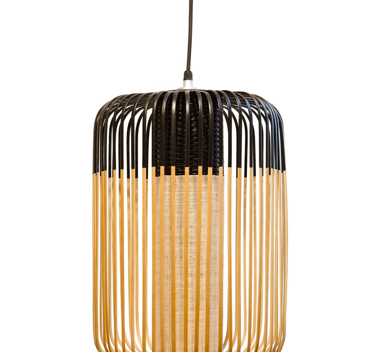 Bamboo light l black arik levy forestier al32170lba luminaire lighting design signed 27310 product