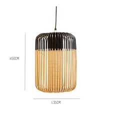 Bamboo light l black arik levy forestier al32170lba luminaire lighting design signed 27311 thumb