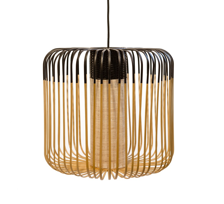 Bamboo light m black arik levy forestier al32170mba luminaire lighting design signed 27313 product