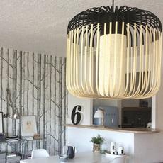 Bamboo light m black arik levy forestier al32170mba luminaire lighting design signed 32065 thumb