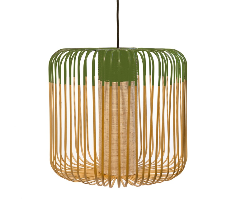 Bamboo light m green arik levy forestier al32170mgr luminaire lighting design signed 27340 product