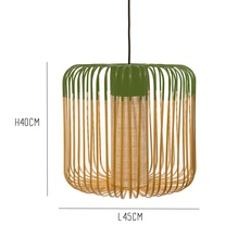 Bamboo light m green arik levy forestier al32170mgr luminaire lighting design signed 27341 thumb