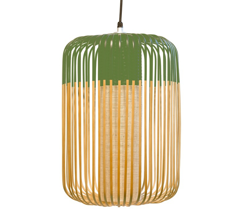 Bamboo light outdoor l  suspension pendant light  forestier 20125  design signed 53936 product