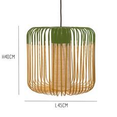 Bamboo light outdoor m  suspension pendant light  forestier 20128  design signed 53930 thumb