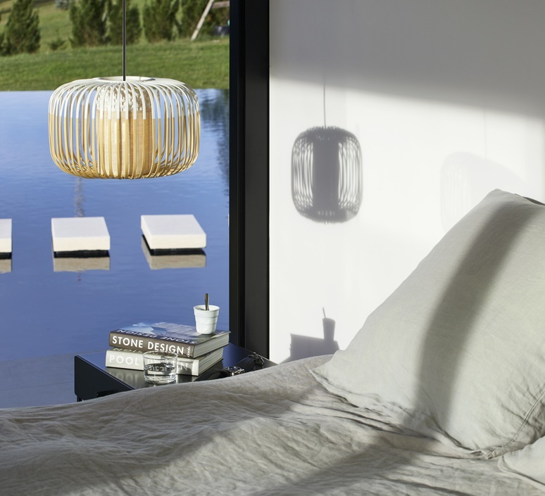 Bamboo light outdoor s  suspension pendant light  forestier 21106  design signed 60005 product
