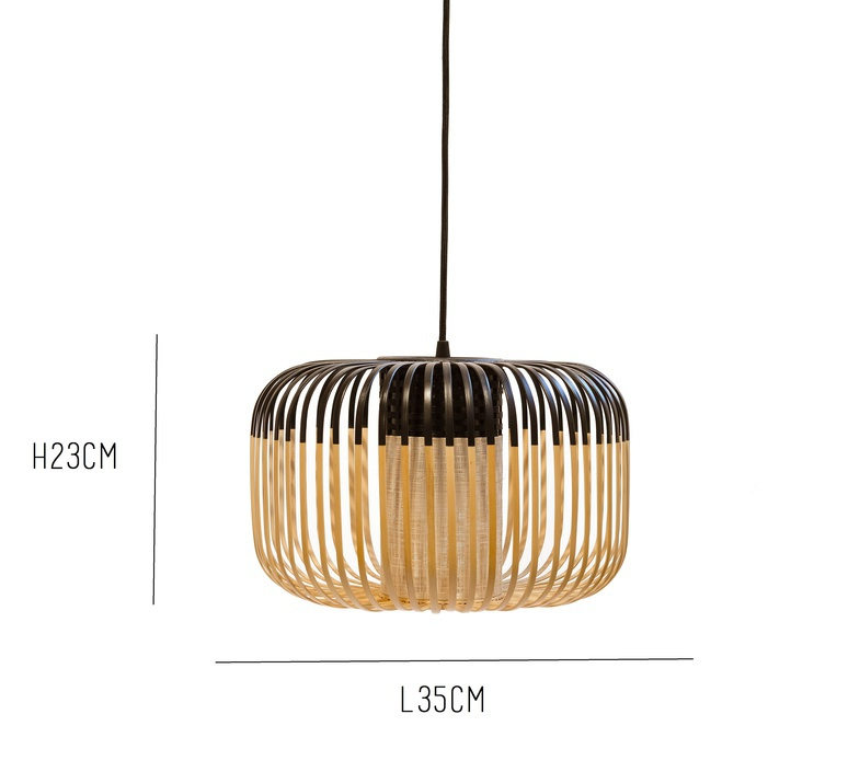 Bamboo light outdoor s  suspension pendant light  forestier 20130  design signed 53916 product